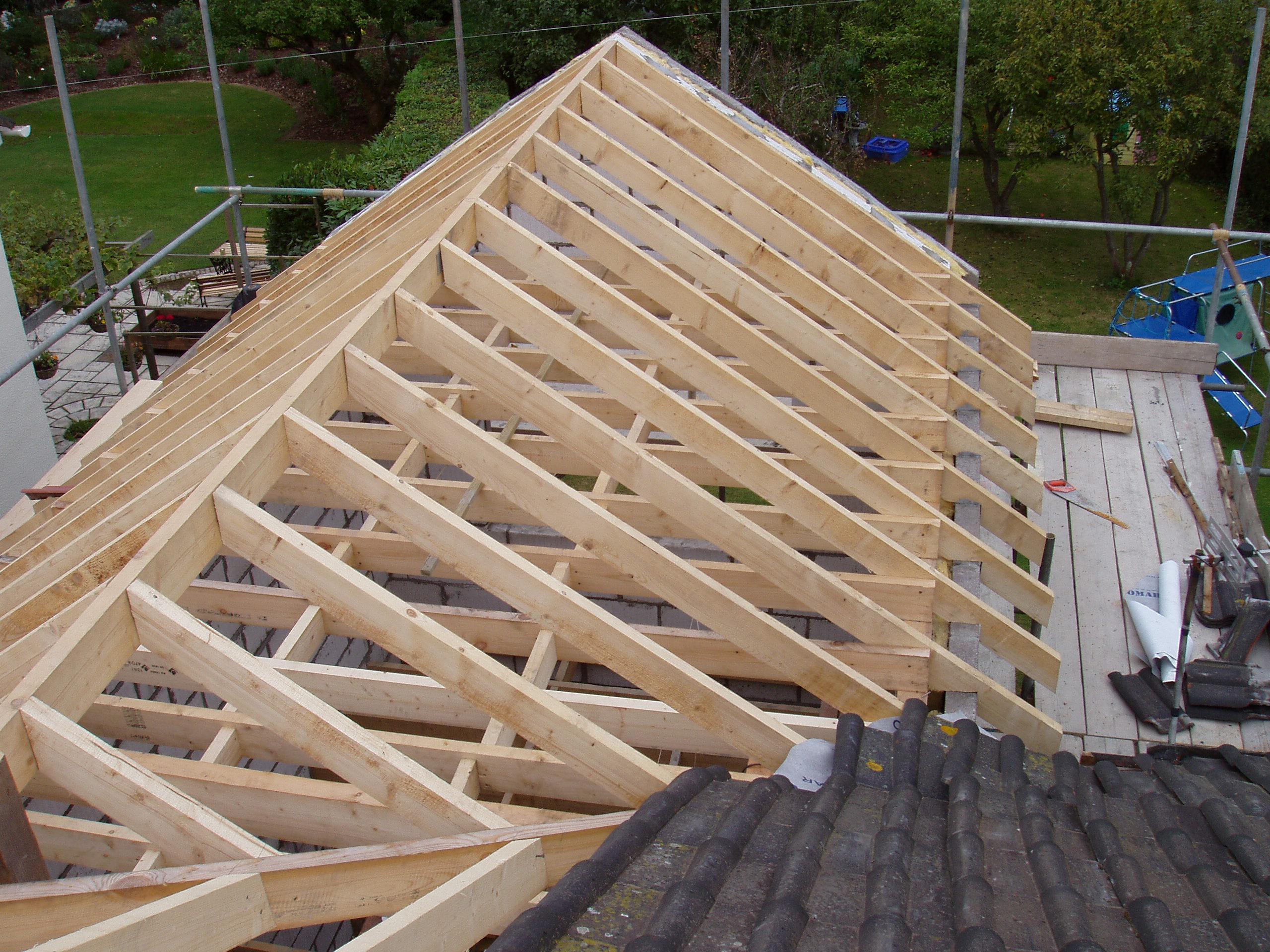 Как сделать крышу дома своими руками фото
