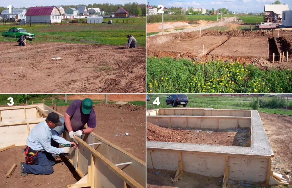 С чего начинать строить дом поэтапное строительство дома своими руками 4