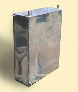 Монтаж бака для горячей воды в бане